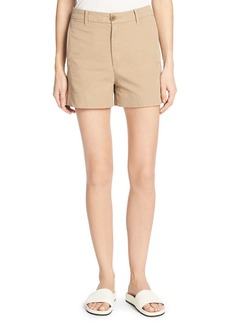 Vince Stretch-Cotton Utility Shorts