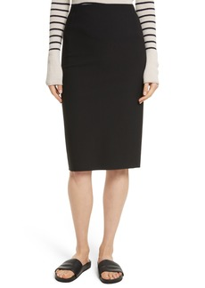 Vince Stretch Ponte Pencil Skirt