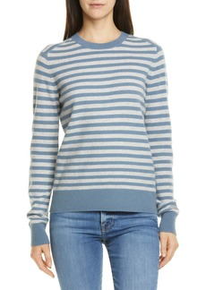 Vince Stripe Cashmere Sweater
