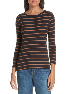 Vince Stripe Cotton Tee
