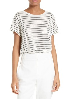 Vince Stripe Relaxed Tee