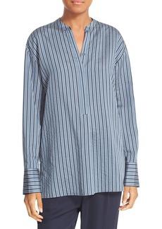 Vince Stripe Silk Tunic