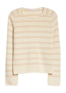 Vince Stripe Wool & Cashmere Sweater