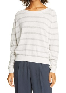 Vince Stripe Wool & Cashmere Sweater