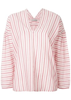 Vince striped blouse - White