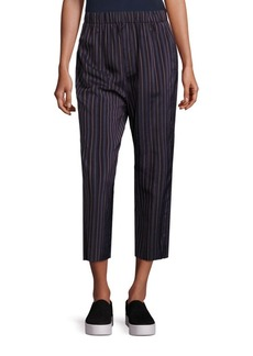 Vince Striped Cropped Pants