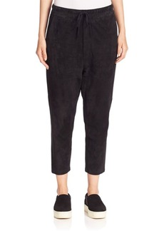 Vince Suede Track Pants