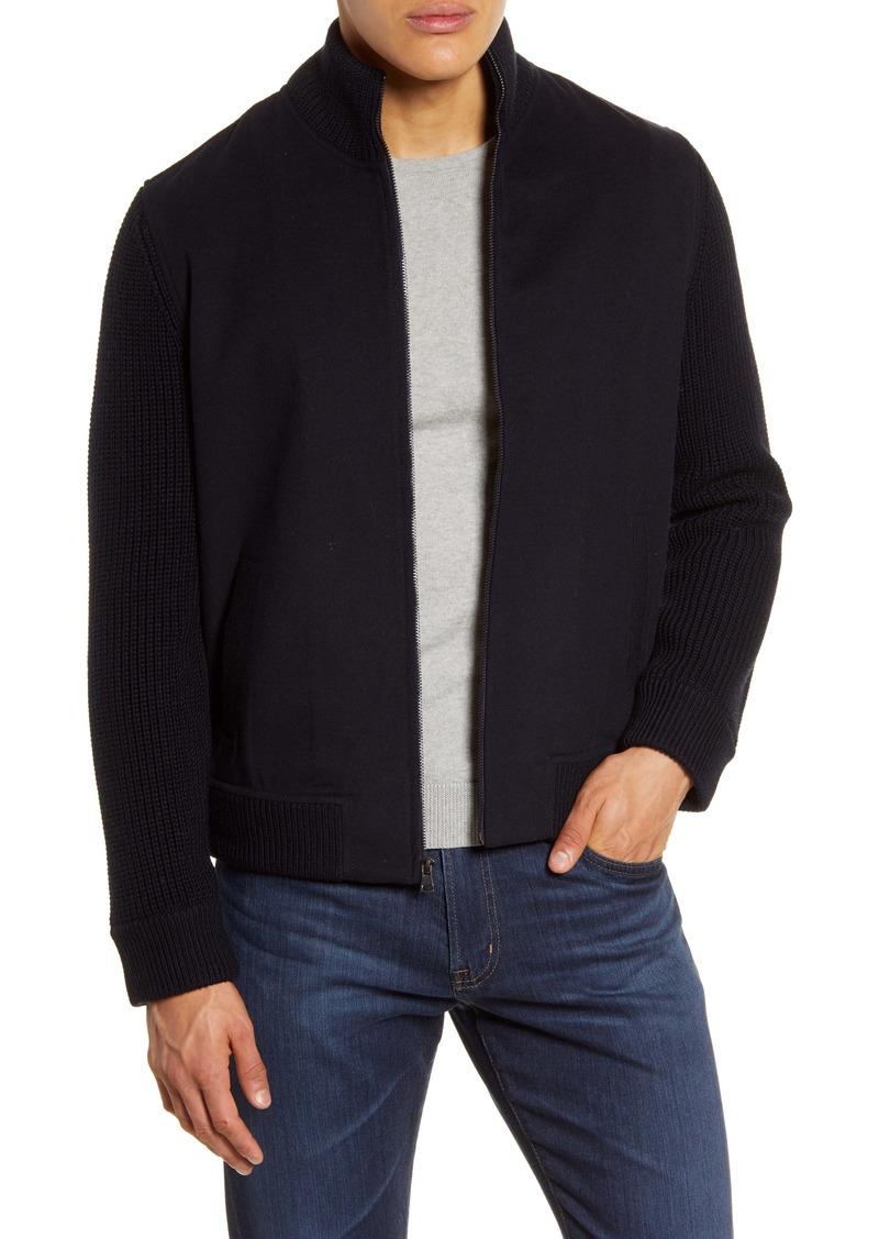 Vince Sweater Knit Jacket