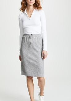 Vince Sweatshirt Skirt