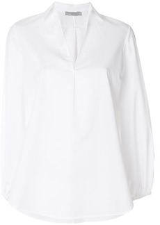 Vince swing front v-cut blouse