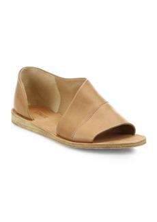 Vince Tabitha Asymmetrical Leather Flats