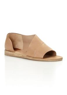 Vince Tabitha Asymmetrical Open Toe Flats