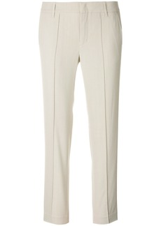 Vince tailored cropped trousers - Nude & Neutrals
