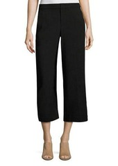 Vince Tailored Wool-Blend Culotte Pants