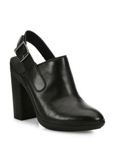 Vince Talya Leather Slingback Booties