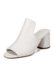 Vince Tanay Crinkled Patent Slide Sandal