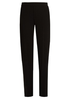 Vince Tapered-leg cady trousers