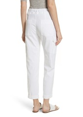 Vince Tapered Utility Stretch Cotton Pants