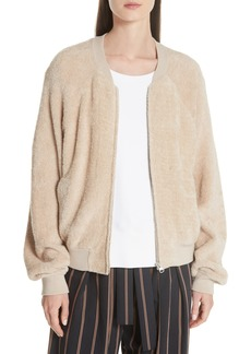 Vince Teddy Bomber Jacket