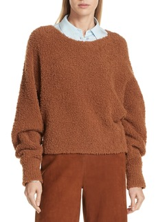 Vince Teddy Crop Sweater