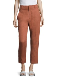 Vince Textured Carrot Pants