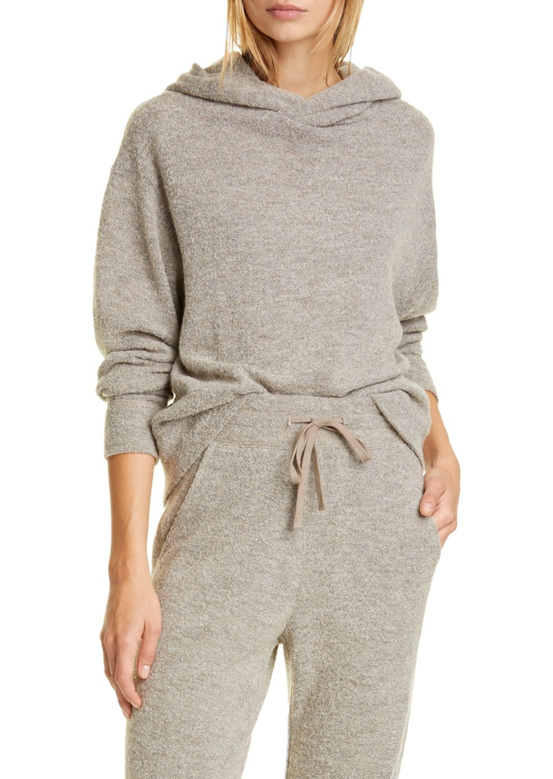 Vince Textured Hooded Sweater