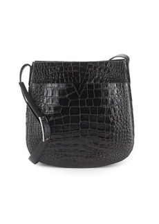 Vince Textured Leather Shoulder Bag