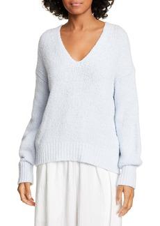 Vince Textured V-Neck Sweater