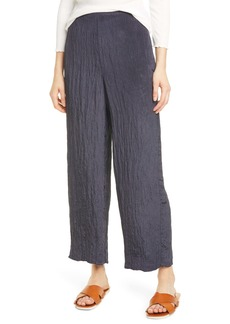 Vince Textured Wide Leg Pull-On Pants