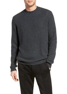 Vince Thermal Knit Crewneck Cashmere Sweater