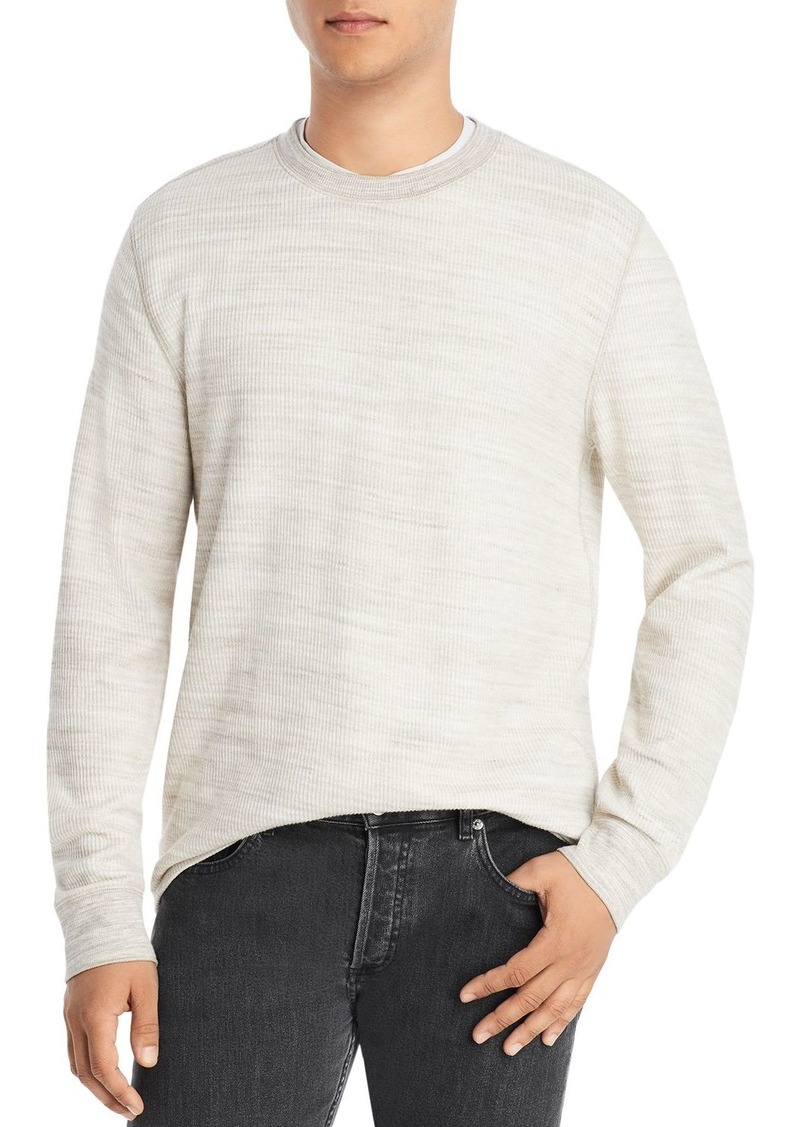 Vince Thermal Knit Crewneck Sweater
