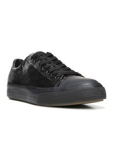 Vince Tiller Low-Top Velvet Sneakers