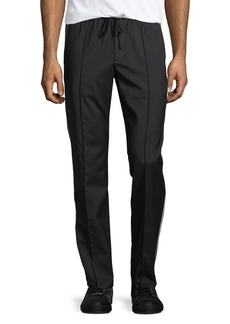 Vince Track-Stripe Wool Trousers