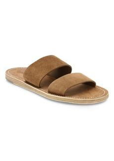 Vince Travis Suede Slip-On Sandals