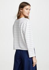 Vince Triple Stripe Sweatshirt