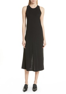 Vince Twist Back Pima Cotton Dress
