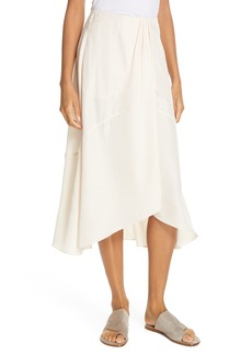 Vince Twist Drape Skirt