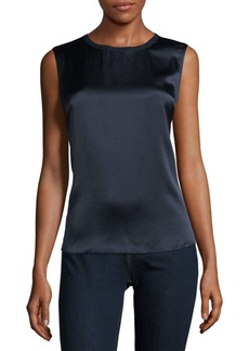 Vince Two-Tone Sleeveless Top