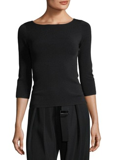 Vince U-Back 3/4-Sleeve Top