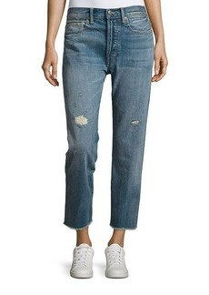 Vince Union Distressed Slouchy Jeans