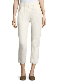 Utility Carpenter Straight-Leg Pants