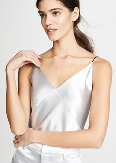 Vince V Neck Bias Cami