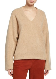 Vince V-Neck Dolman-Sleeve Sweater