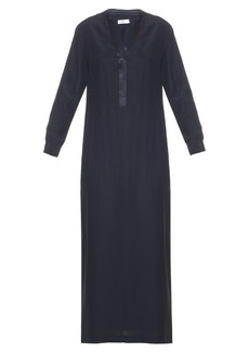 Vince V-neck silk maxi dress