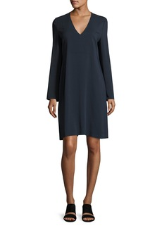 Vince V-Neck Tunic Dress