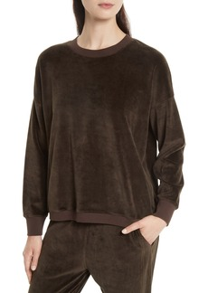 Vince Velour Pullover