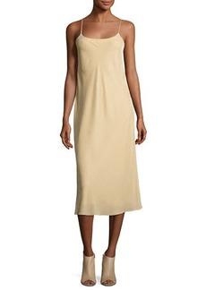 Vince Velvet Camisole Slip Dress