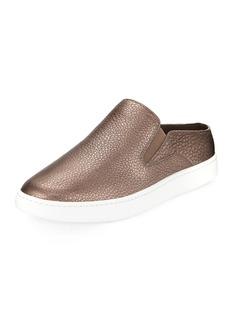 Vince Verrell-2 Metallic Leather Mule Sneaker