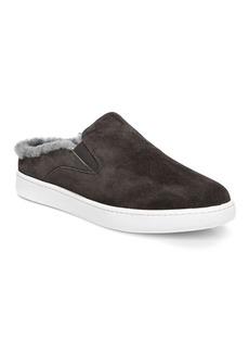 Vince Verrell-3 Shearling & Suede Mule Sneakers
