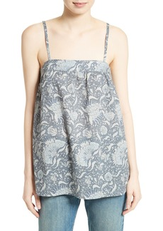 Vince Vintage Floral Cotton Camisole
